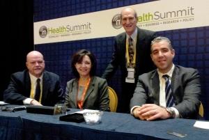 Gregory Thomas/CDR, Nasin Dayani/AT&T, Don Schoen/BettrLife, Steve Landers/Visiting Nurse Association